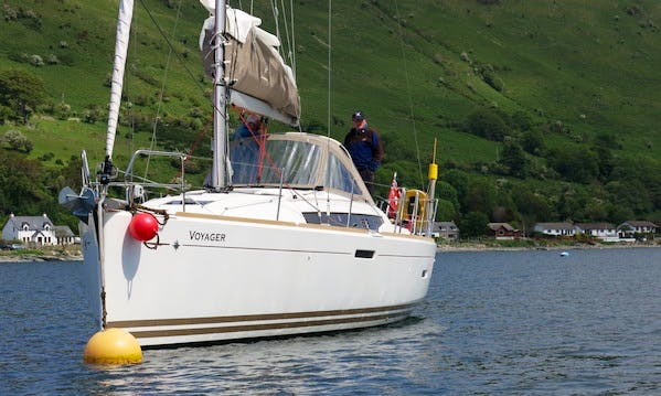Hire 37' Voyager Jeanneau Cruising Monohull in Largs, Scotland