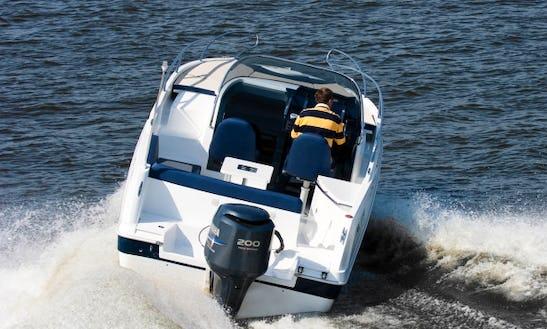 Rent 23' Galia 700 Sundeck Motor Yacht In Punat, Croatia
