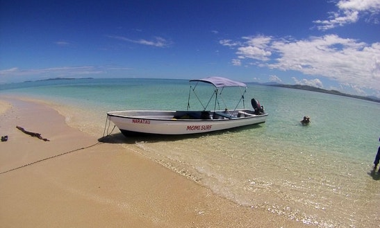 Enjoy Fishing In Momi, Fiji With Captain Ben