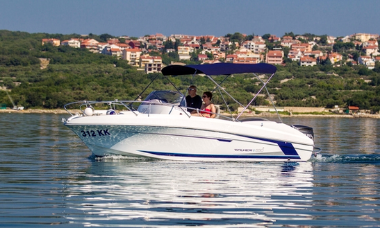 Rent 20' Beneteau Flyer 650 Sun Deck Bowrider In Punat, Croatia