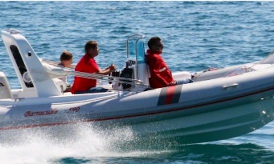 Rent 19' Barracuda 590 Sd 351 Kk Rigid Inflatable Boat In Punat, Croatia