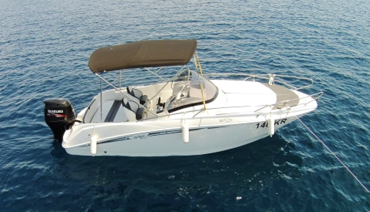 Rent 20' Galia 630 Sundeck Bowrider In Mali Lošinj, Croatia
