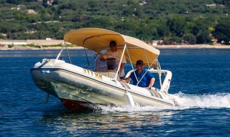 Rent 17' Barracuda 530 - 309KK Rigid Inflatable Boat in Mali Lošinj, Croatia