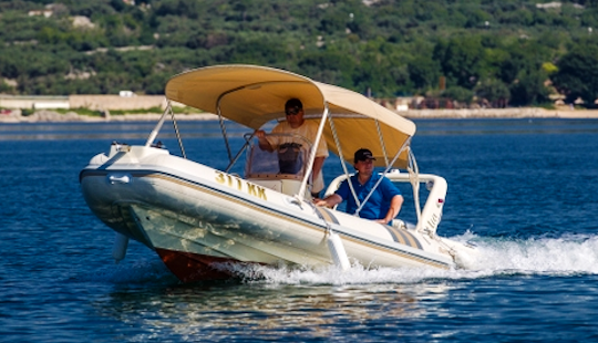 Rent 17' Barracuda 530 - 309kk Rigid Inflatable Boat In Mali Lošinj, Croatia