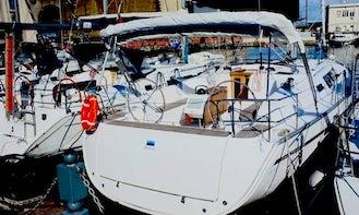 Sailing Charter On 46ft Bavaria Cruiser Sailboat In Napoli, Italy