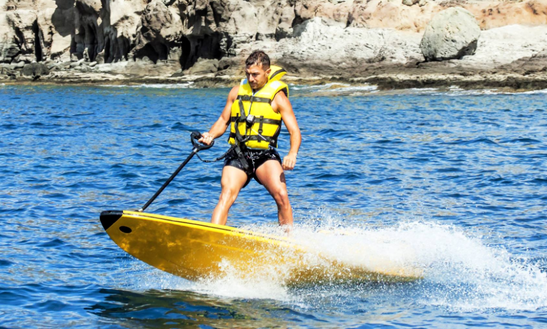 Motorized Surfboard Rental In Mogán, Spain