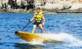 Motorized Surfboard Rental In Mogán, Spain
