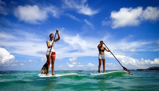 Enjoy Stand Up Paddleboard Tours And Rentals In Grace Bay, Caicos Islands