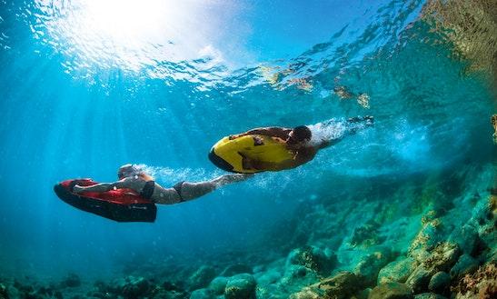 Enjoy Seabob Rentals In Riviere Du Rempart, Mauritius