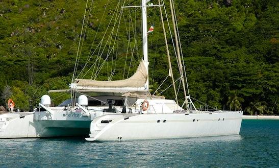 Charter 85' Lonestar Cruising Catamaran In Victoria, Seychelles