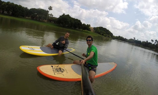 Stand Up Paddleboard Rental In Rancho Viejo, Texas