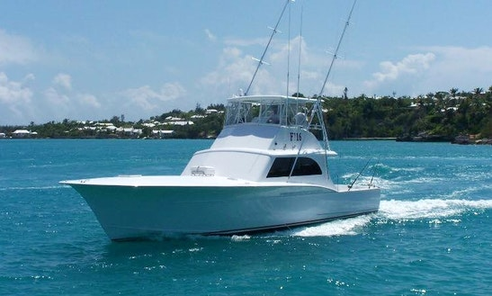 Enjoy Fishing In Hamilton, Bermuda On 51' Sport Fisherman