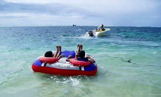 Enjoy Tube Rides In Flacq, Mauritius