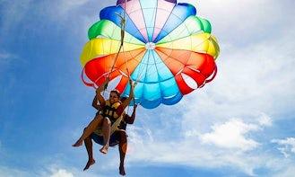 Enjoy 15 minutes Parasailing Adventure in Flacq, Mauritius