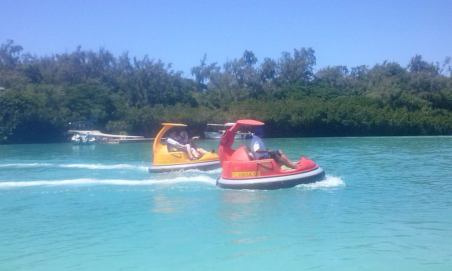 Another powered watercraft that you need to experience in Flacq, Mauritius!