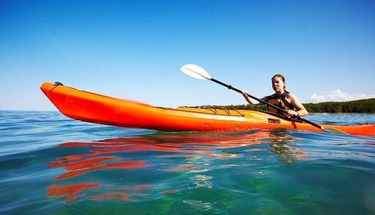 Rent A Single Kayak In Flacq, Mauritius