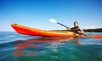 Rent a Single Kayak in Flacq, Mauritius