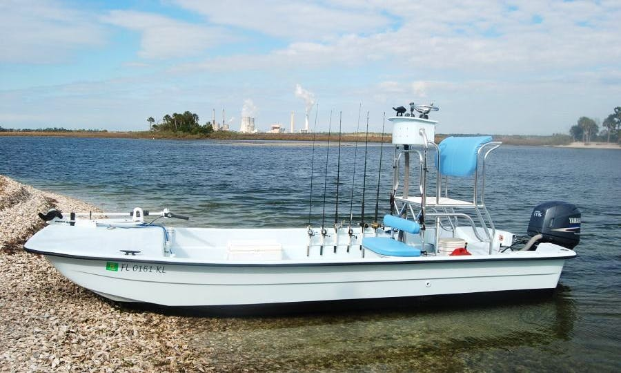 """Guided Fishing Trip on 21' """"Co Jones"""" Fishing Boat in Crystal River, Florida"""