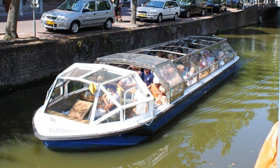 Charter Willem De Zwijger Canal Boat In Delft, Netherlands