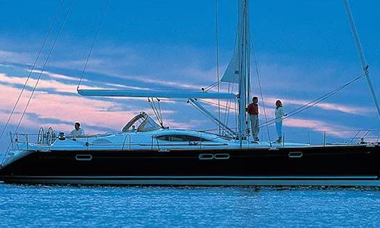 Charter 54' Esterno Jeanneau Cruising Monohull In Rosignano Solvay-castiglioncello, Italy