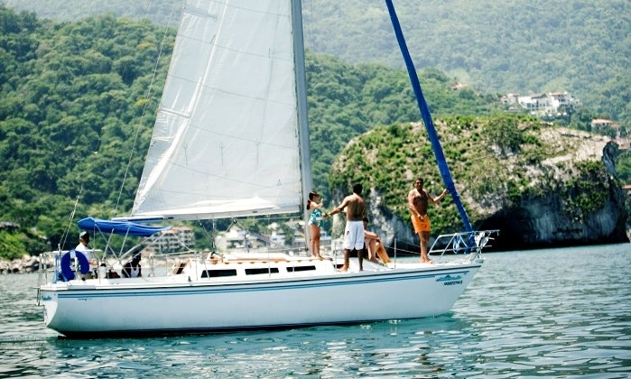 Private Crewed Sailing Charter On 30' Catalina Sailboat In