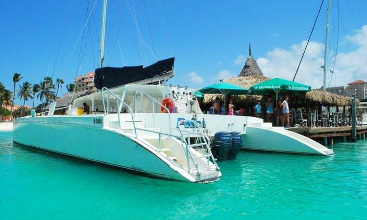 50' Sailing Catamaran Charter in Noord, Aruba