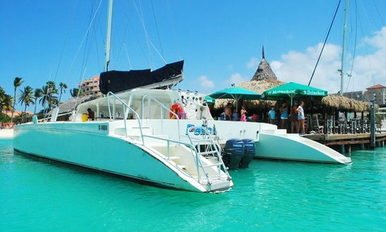 50' Sailing Catamaran Charter In Noord, Aruba