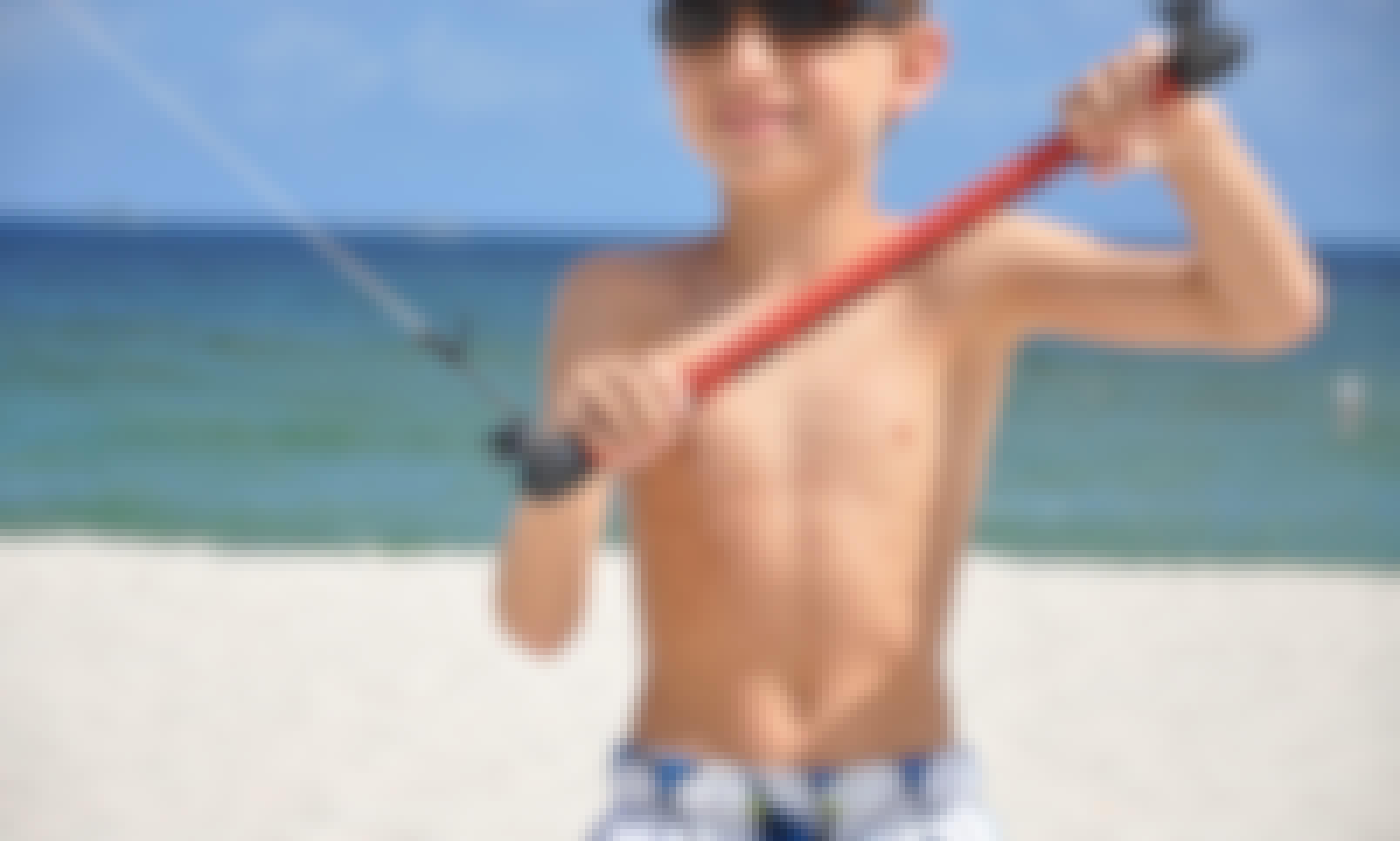 Kiteboarding in Pompano Beach, Florida