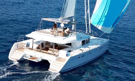 Charter 56' Lagoon Cruising Catamaran At Elba Island, Italy
