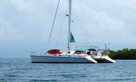 Charter 48' Privilege Cruising Catamaran In Sardegna, Italy