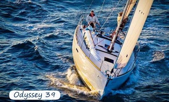 Charter 39' Jeanneau Sun Odyssey Cruising Monohull In Amalfi, Italy