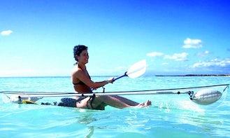 Rent Single Kayak in Porto Cesare, Puglia