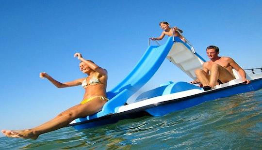 Enjoy Paddle Boating In Porto Cesare, Puglia