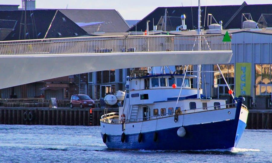 Enjoy Fishing at København, Denmark on Trawler M/S Skipper