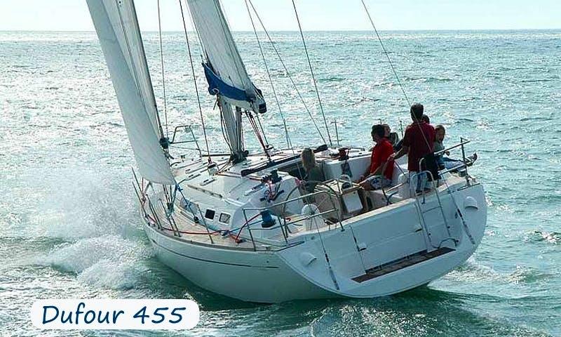 Charter 45' Dufour Cruising Monohull in Sardegna, Italy