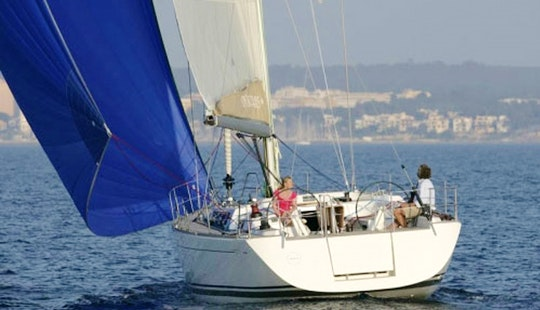 Charter Dufour 455 Grand Large Cruising Monohull In Sardegna, Italy