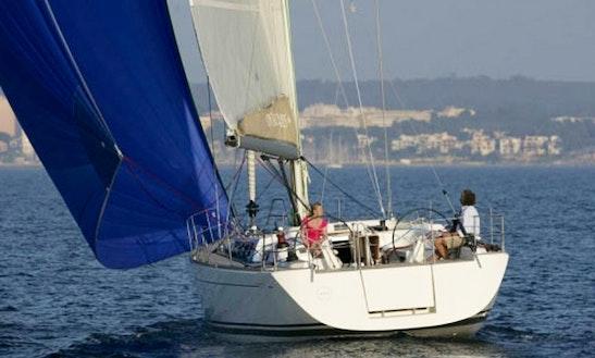 Charter 48' Dufour Cruising Monohull In Sardegna, Italy