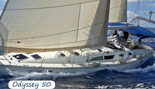 Charter 50' Jeanneau Sun Odyssey Cruising Monohull At Elba Island, Italy