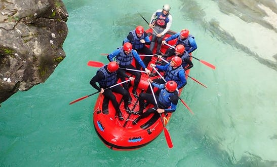 Enjoy Rafting Trips In Bovec, Slovenia