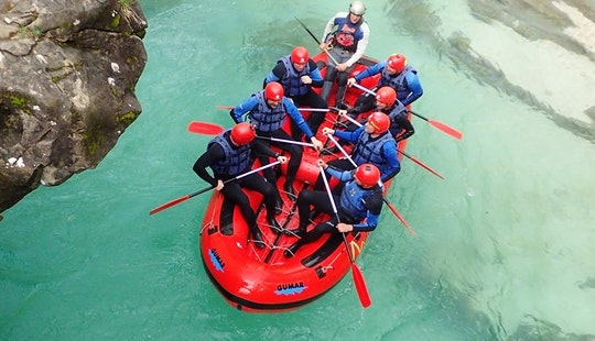 Join The Thrill Seekers' Rafting Trips In Bovec, Slovenia