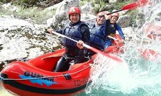 Guided Mini Rafting Trips in Bovec, Slovenia