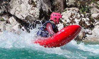 Hydrospeed Trips in Bovec, Slovenia