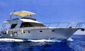 Charter 52' Princess Power Mega Yacht in Göynük Belediyesi, Antalya
