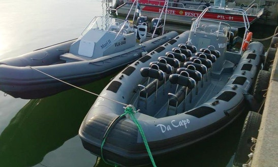 Rent A Rigid Inflatable Boat In Tallinn, Harju
