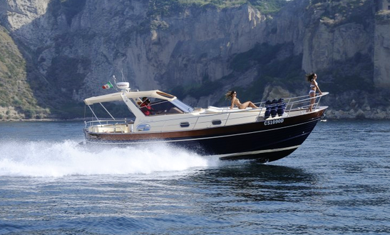 Charter The 12 People Blue Motor Yacht From Sorrento, Italy