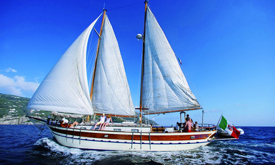 Charter This Sailing Gulet For 15 People With Skipper In Sorrento, Italy
