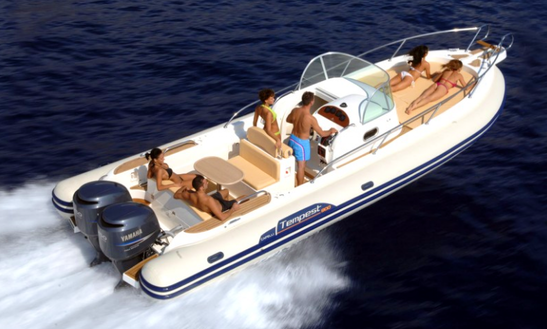 Charter This 12 People Tempest Rigid Inflatable Boat In Sorrento, Italy