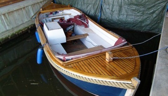 Rent 23' Ms Pegasus Canal Boat In Workum, Friesland