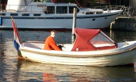 Rent 16' Ms Vitesse Canal Boat in Workum, Friesland
