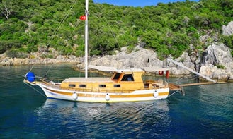 An amazing sailing experience on a Gulet in Muğla, Turkey